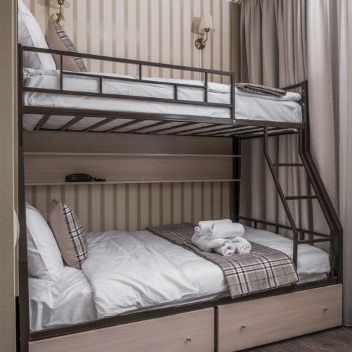 Двухместный номер с двухярусной кроватью 2